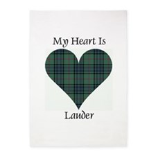 Heart - Lauder 5'x7'Area Rug