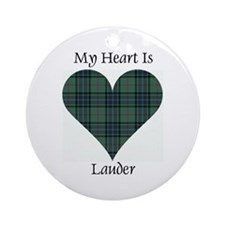 Heart - Lauder Ornament (Round)