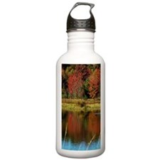 Fall at the Lake Water Bottle