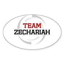 Zechariah Oval Decal