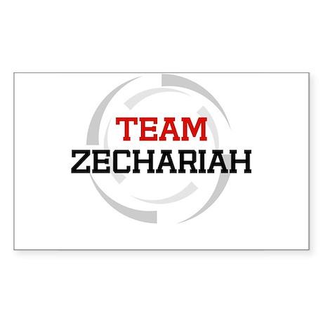 Zechariah Rectangle Sticker