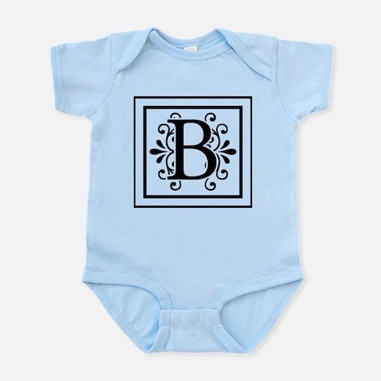 Letter B Monogram Body Suit
