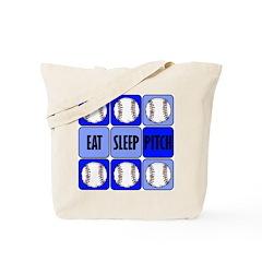 EAT, SLEEP, DUNK Tote Bag