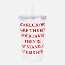 Cool Funeral director Acrylic Double-wall Tumbler