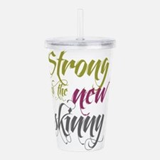 Strong is the New Skinny - Script Olive, Purple, G