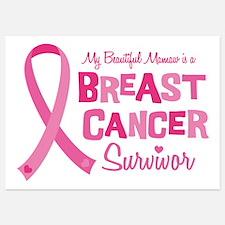Mamaw Breast Cancer Invitations