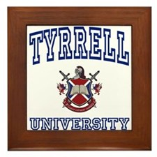 TYRRELL University Framed Tile