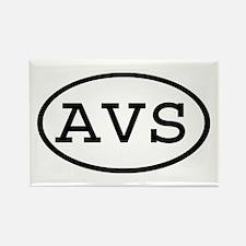 AVS Oval Rectangle Magnet
