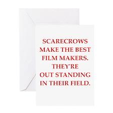 film maker Greeting Card