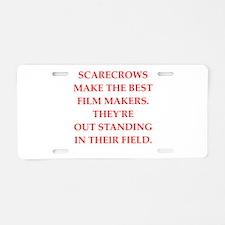 film maker Aluminum License Plate