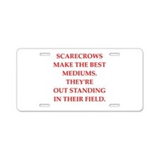 medium Aluminum License Plate