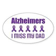 Alzheimers I Miss My Dad Decal