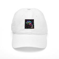 Chameleon Fantasy Rainbow Baseball Baseball Cap
