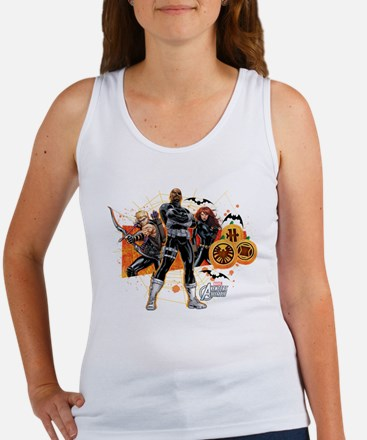 Avengers Assemble Halloween 5 Women's Tank Top