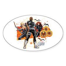 Avengers Assemble Halloween 5 Decal
