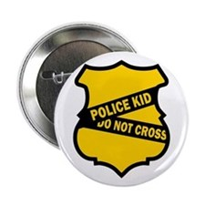 Police Kid Do Not Cross Button