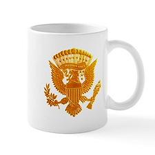 Vintage Gold Presidential Seal Mug