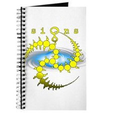 Solar System Crop Circle Yellow Journal