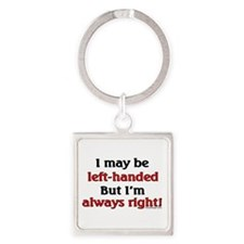 Left-Handed Funny Saying Keychains