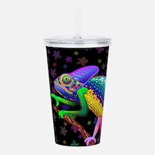 Chameleon Fantasy Rainbow Acrylic Double-wall Tumb