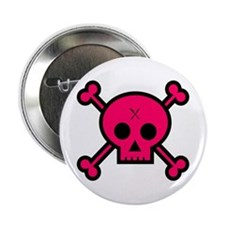 "Punk Skull 2.25"" Button"