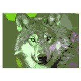 Wolf 5 x 7 Flat Cards