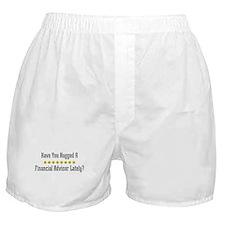 Hugged Financial Advisor Boxer Shorts
