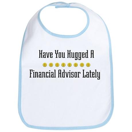 Hugged Financial Advisor Bib