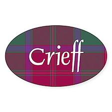 Tartan - Crieff dist. Decal