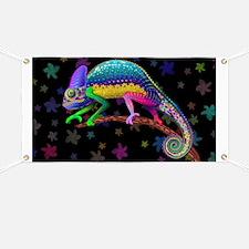 Chameleon Fantasy Rainbow Banner