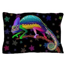 Chameleon Fantasy Rainbow Pillow Case
