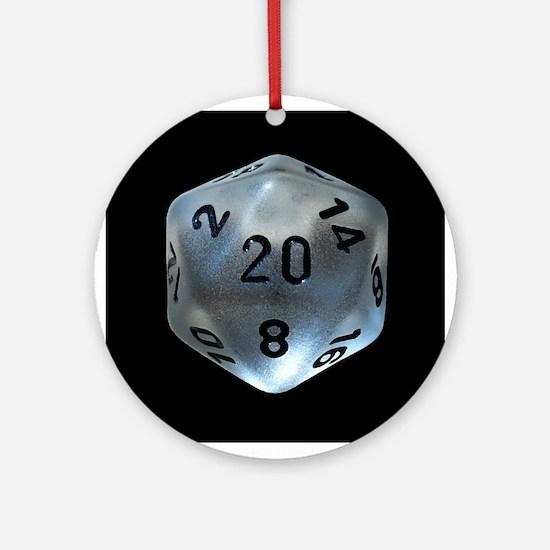 D20 Ornament (round)
