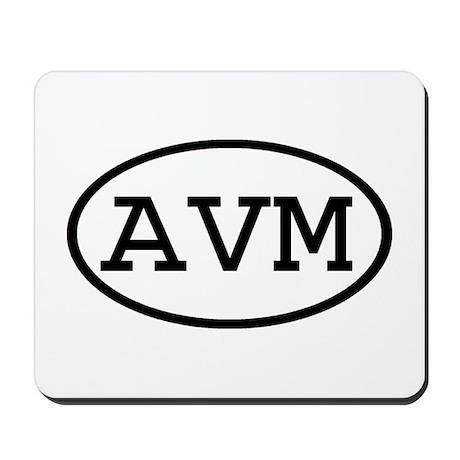 AVM Oval Mousepad