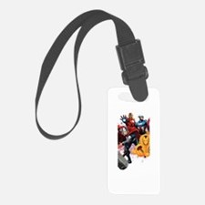 Avengers Assemble Halloween Luggage Tag