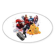 Avengers Assemble Halloween Decal