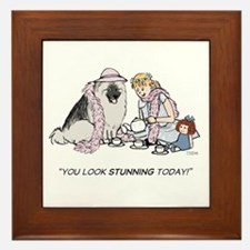 Keesie Tea Party Framed Tile
