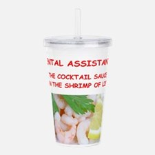 dental assistant Acrylic Double-wall Tumbler