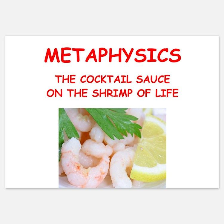 metaphysics 5x7 Flat Cards