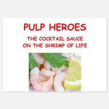 pulp heroes Invitations