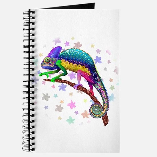 Chameleon Fantasy Rainbow Journal