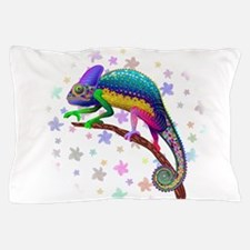 Chameleon Fantasy Rainbow Pillow Case