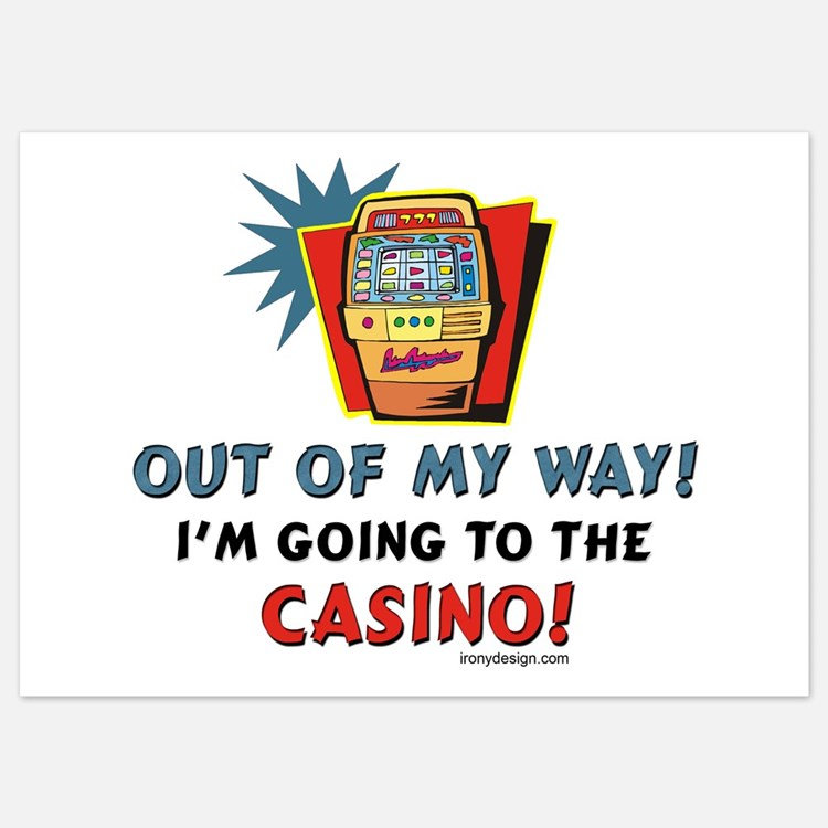 Out of My Way Casino! Invitations
