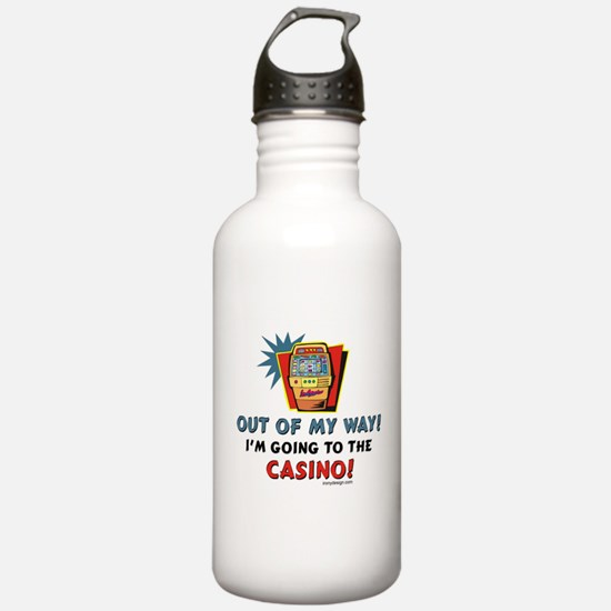Out of My Way Casino! Sports Water Bottle