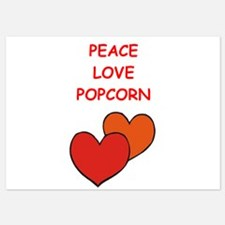 popcorn Invitations