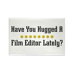 Hugged Film Editor Rectangle Magnet (100 pack)