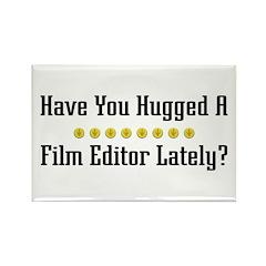 Hugged Film Editor Rectangle Magnet (100 pack)