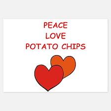 potato chips Invitations