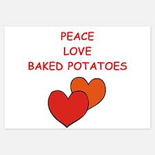 baked potato Invitations