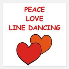 line dancing Invitations