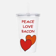 bacon Acrylic Double-wall Tumbler